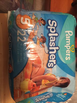 Pampers splasher's for Sale in Del Valle, TX