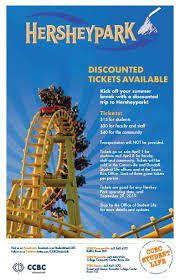 Hershey Park Tickets for Sale in Hershey, PA