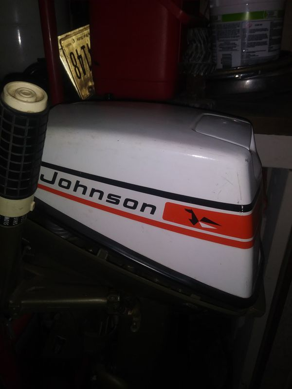 1975 6hp Johnson outboard