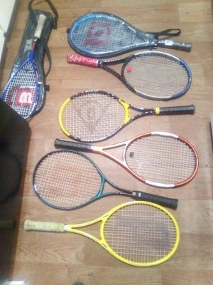 $830.00 of tennis rackets new for Sale in Seattle, WA