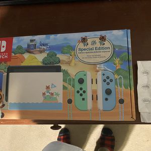 Nintendo Switch Animal Crossing Edition for Sale in Sylmar, CA