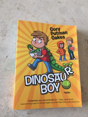 Dinosaur Boy Book by Cory Putman Oakes for Sale in West Palm Beach, FL