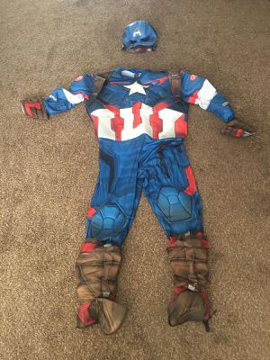 Captain America outfit for Sale in Hemet, CA
