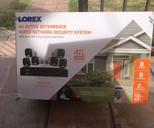 Loren 4 active deterrence wired network security systems for Sale in Los Angeles, CA