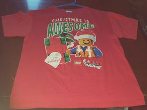 """KID'S CLOTHES Boy's Lego """"Christmas Is Awesome"""" t-shirt for Sale in Carson, CA"""
