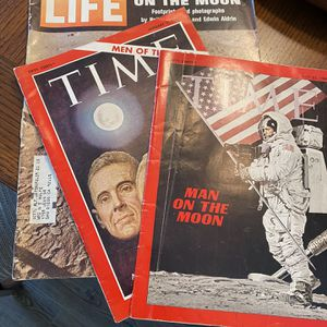 Man On the Moon - Three 1969 Magazines for Sale in Murrieta, CA