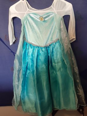 Size 3 to 5 elsa dress for Sale in Greenwood, IN