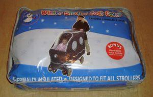 Winter Double Stroller Cover for Sale in Philadelphia, PA