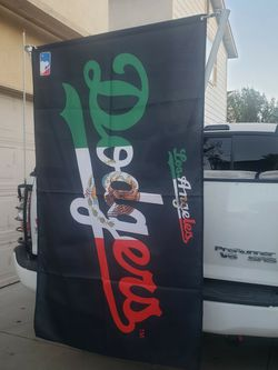 Los Angeles DODGERS Mexico Flag Brand New Big 3x5 Feet $25 for Sale in Los Angeles,  CA