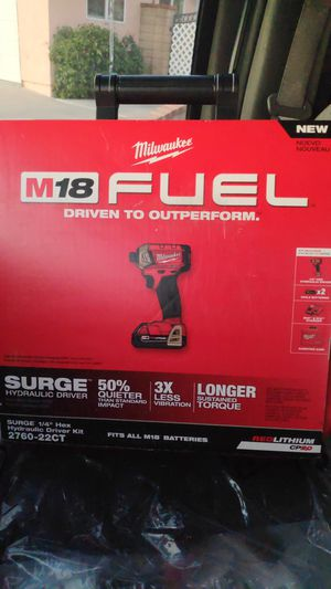 Milwaukee fuel impact $140.00 firm for Sale in Bloomington, CA