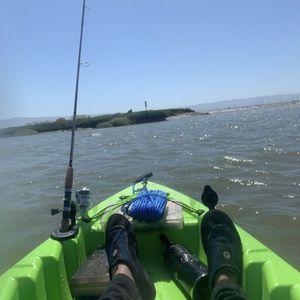 "Lifetime 10'6"" Tandem Kayak with Trolling Motor for Sale in San Jose, CA"