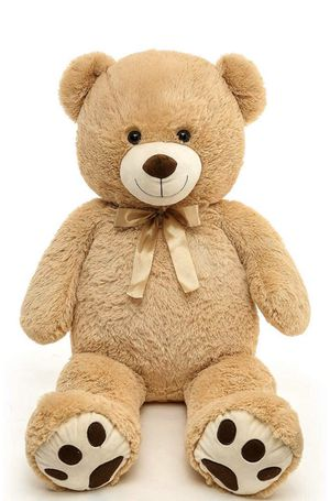 Giant Teddy Bear Soft Big Teddy Bear Stuffed Animals Plush Christmas for Girlfriend Kids,39 inch Tan for Sale in Columbus, OH