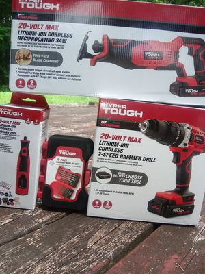 New Hyper Tough Power Tool Bundle for Sale in Austell, GA