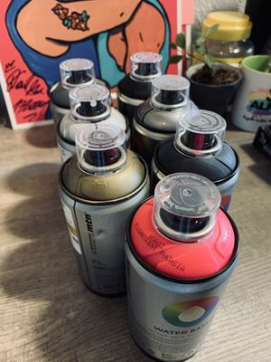 MTN Spraycan set for Sale in Chicago, IL
