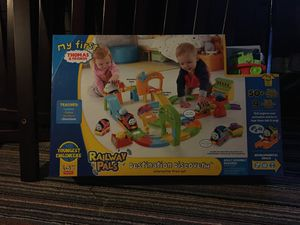 My first Thomas & friends railway pals play set $15 for Sale in Bristol, PA
