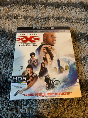 xXx return of Xander cage Blu-ray for Sale in Palmdale, CA
