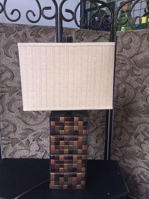 Beautiful Heavy Bronze Lamp for Sale in Atlanta, GA