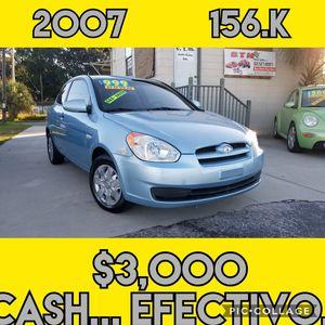 2007 Hyundai accent gs for Sale in Winter Haven, FL
