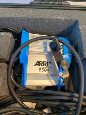Arri 650 plus lights 2 of them with pelican case for Sale in Jurupa Valley, CA