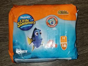 Huggies little swimmers (M) for Sale in Austin, TX