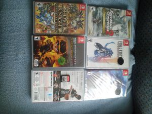 Nintendo Switch Games x6 for Sale in Hopewell, VA