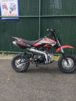 Brand new 2021 KAIT kids dirt bike pit bike 70 CC And 110cc for Sale in Joint Base Lewis-McChord,  WA