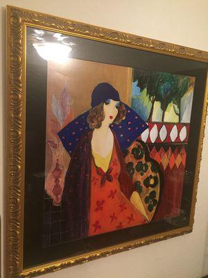 Indigo Chapeau by Itzchak Tarkay for Sale in St. Petersburg, FL