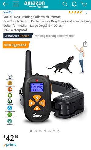 Dog Training Collar for Sale in Chevy Chase, MD
