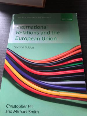 International Relations and the European Union (2nd Edition) for Sale in Washington, DC