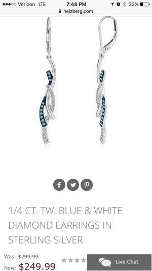 Diamond earrings for Sale in Hurst, TX