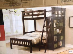 Bunk bed/ twin over full for Sale in Orlando, FL