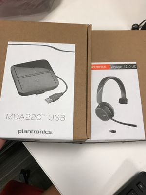 Plantronics Wireless Headset and USB for Sale in Tucson, AZ