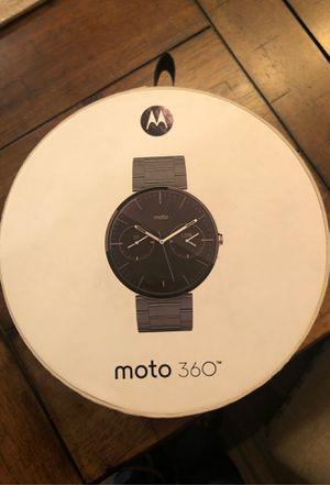 Moto 360 watch for Sale in Cypress, TX