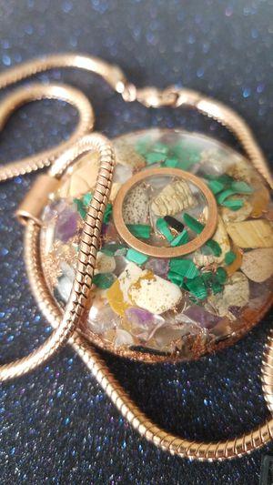 * Orgonite / rose gold snake chain * for Sale in Denver, CO