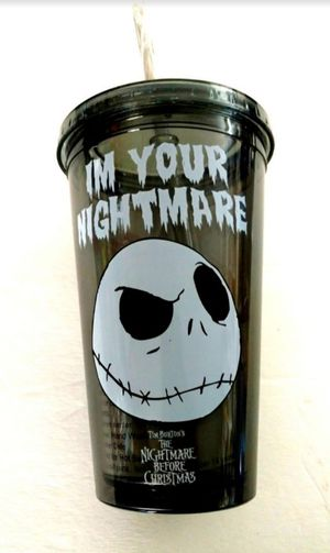 New reusable Jack Skellington Nightmare Before Christmas Cup for Sale in Lincoln Acres, CA
