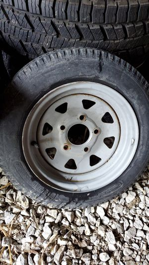 Small trailer tire for Sale in Westfield, IN