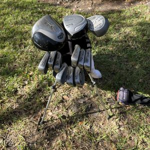 Men's Golf Clubs (Driver, 3-wood, 5-wood, Irons And Bag) for Sale in Orlando, FL