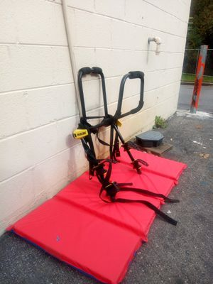 Bicycle rack holds 2 bicycle for Sale in Hyattsville, MD