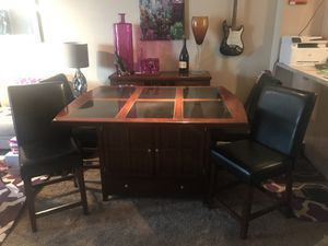 Dining Table with Granite Top for Sale in Denver, CO