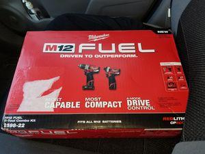 Milwaukee Fuel Brushless kit 2598-22 brand new in box for Sale in Winter Springs, FL