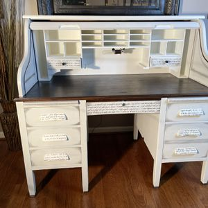 One Of A Kind Antique Roll Top Desk for Sale in Springfield, VA