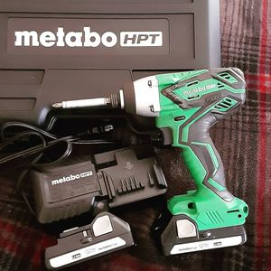 Metabo HTP impact brand new used twice , two barriers n charger with a dewalt drill with chucks an bits. Hard case. Super super nice for Sale in Benson, NC