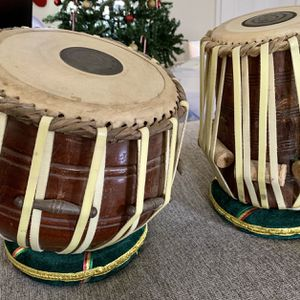 Authentic Handmade Tabla With Cushions for Sale in Midlothian, VA