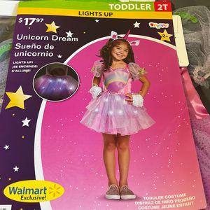 Toddle Costume Unicorn Dream, Size 2 for Sale in Ontario, CA