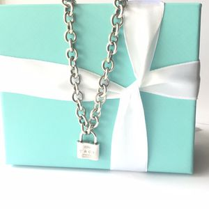 Tiffany&CO 1837 padlock charm link necklace for Sale in St. Cloud, FL