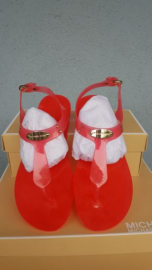 New Authentic Michael Kors Women's Sandals Size 10 ONLY for Sale in Montebello, CA