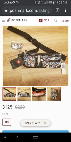 Lesportsac toki doki belt bag for Sale in Ewa Beach, HI