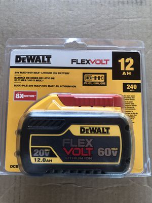 (Low ball offer will be ignored) Dewalt Battery (Free delivery) for Sale in Glendale, AZ