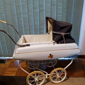 Vtg Tri-ang Toys Steel Doll Carriage Great Britain for Sale in Federal Way, WA