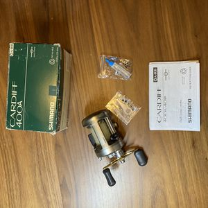 Shimano Cardiff 400A Fishing Reel for Sale in Los Angeles, CA